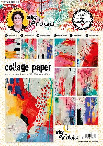 Artsy Arabia Collage Pad 07
