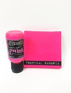 Tropical Sangria Dylusions Paint