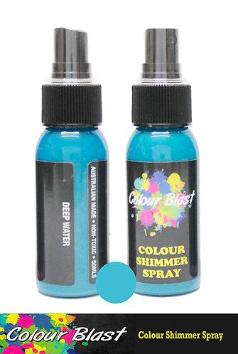 Deep Water Shimmer Spray - Colour Blast