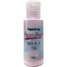 Taro Milk Tea Fresco Paint