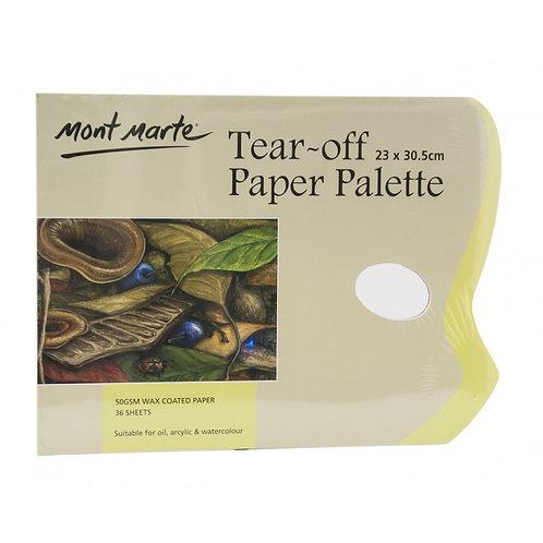 Tear-off Paper Palette