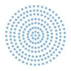 2mm Azure Adhesive Gems