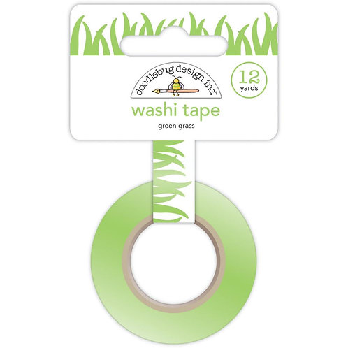 Green Grass Washi Tape