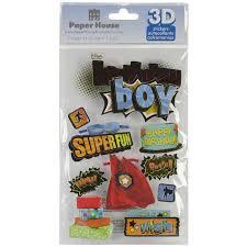 Birthday Boy 3D Stickers