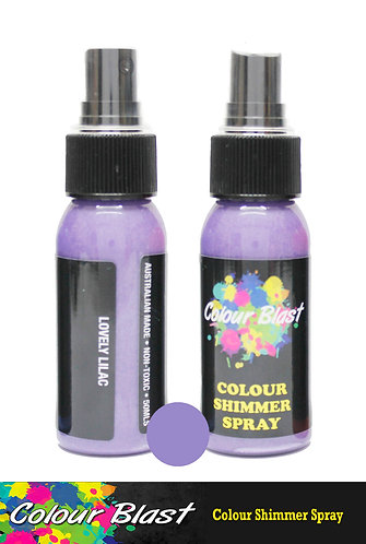 Lovely Lilac Shimmer Spray - Colour Blast