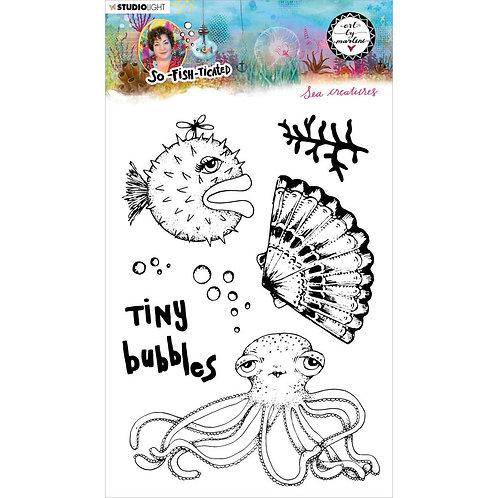 Sea Creatures Stamp