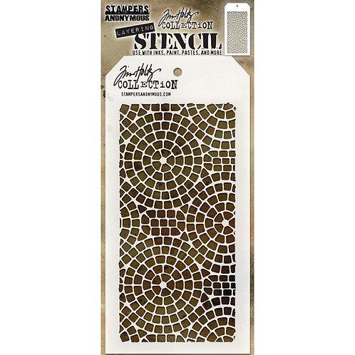 Mosaic Layering Stencil