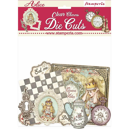 Through the Looking Glass clear Charms