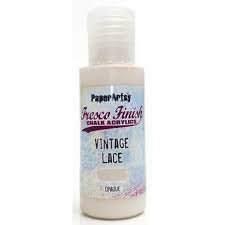 Vintage Lace Fresco Paint