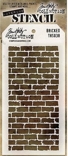 Bricked Layering Stencil - Tim Holtz
