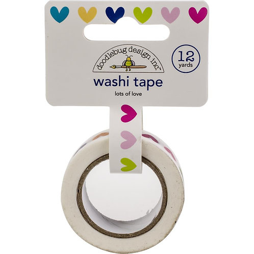 Lots Of Love Washi Tape