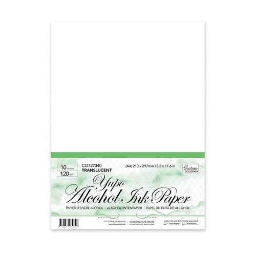 *Yupo Paper - Transparent A4 - 120gsm (10 sheets per pack)