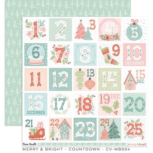 Count Down Merry & Bright