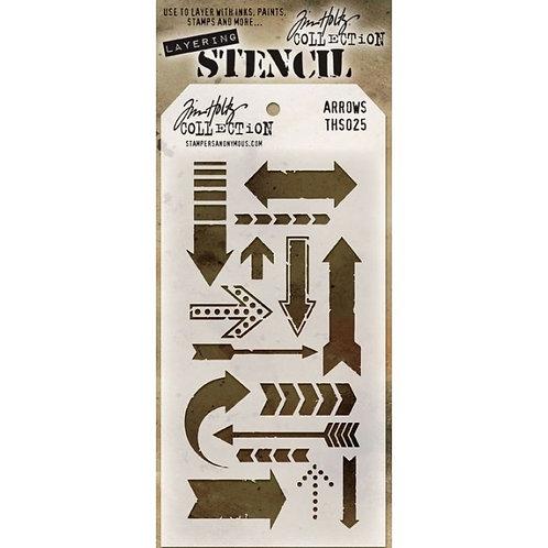 Arrows Layering Stencil