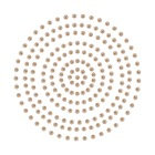 2mm Chocolate Adhesive Pearls