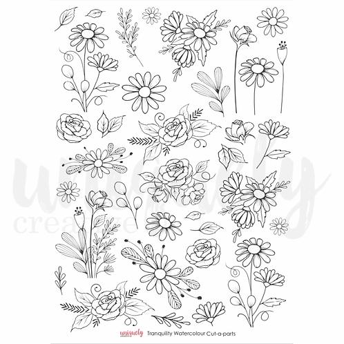 Tranquility Watercolour sheet