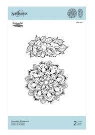 Mandala Blossoms Spellbinders Stamp