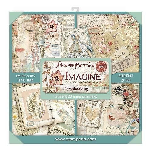 Imagine Maxi Pad Stamperia