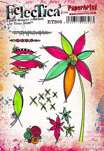 Eclectica Stamp Set 08