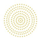 2mm Champagne Adhesive Pearls