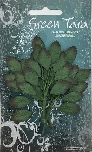 Dark Green Leaf Spray