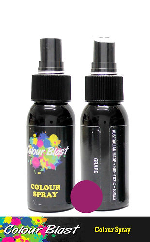 Grape Colour Spray - Colour Blast