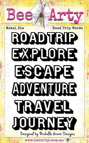 ROAD TRIP -WORDS METAL DIE