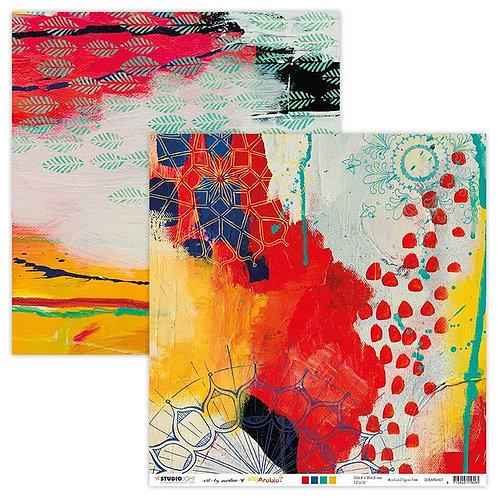 Art by Marlene 12 x 12 Paper BM01