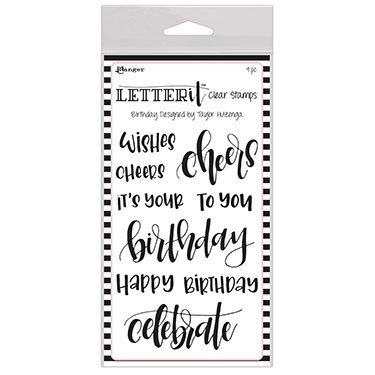 Birthday - Letter It Stamp