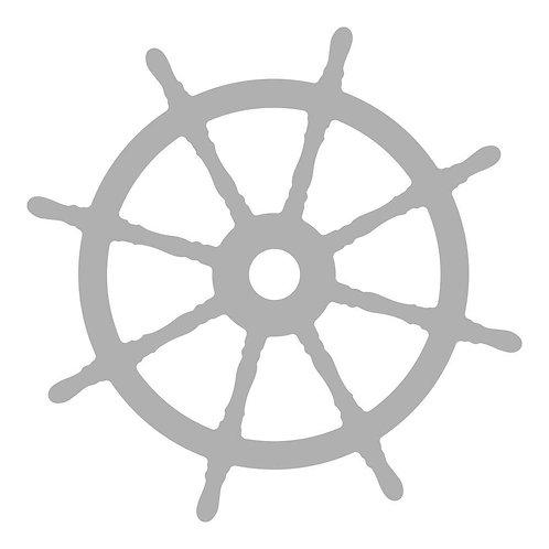 Mini Die Ship's Wheel