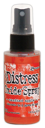 "DISTRESS OXIDE SPRAY ""CANDIED APPLE"""