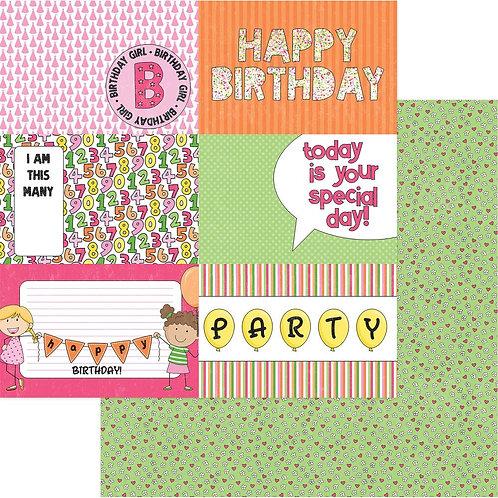 Hip Hip Hooray - Birthday Girl Wishes