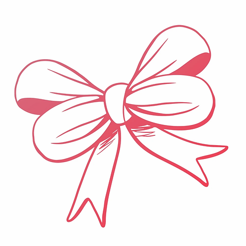TIED IN A BOW MINI STAMP