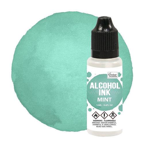 Mint Alcohol Ink