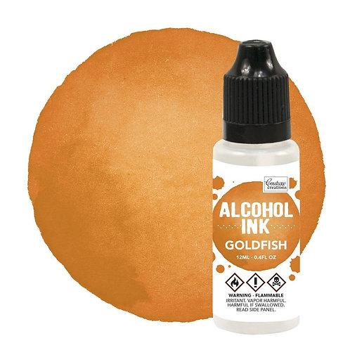 Goldfish Alcohol Ink