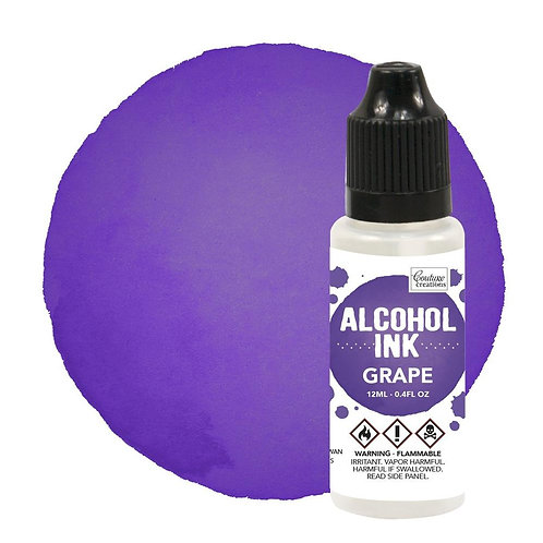 Grape Alcohol Ink