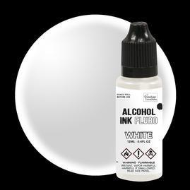 FLURO WHITE Alcohol Ink