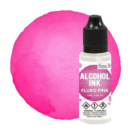 Fluro Pink Alcohol Ink