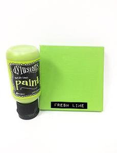 Fresh Lime Dylusions Paint