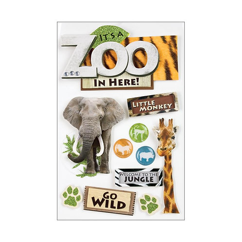 Zoo 3D Stickers
