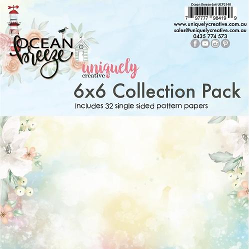 Ocean Breeze 6 x 6 Paper Pack