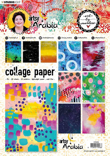 Artsy Arabia Collage book 08