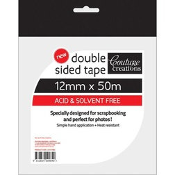 Double Sided Tape 12mm x 50m -Couture Creations