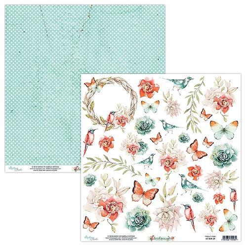 Birdsong 09 12 x 12 paper elements