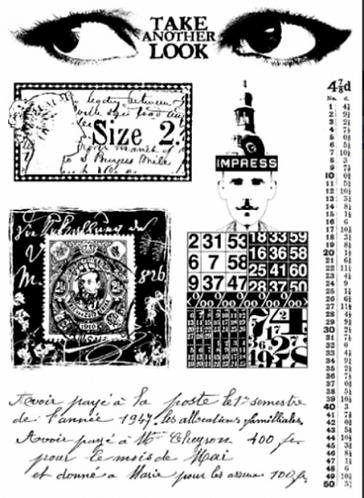 Vintage Ink & The Dog Stamp Set 08