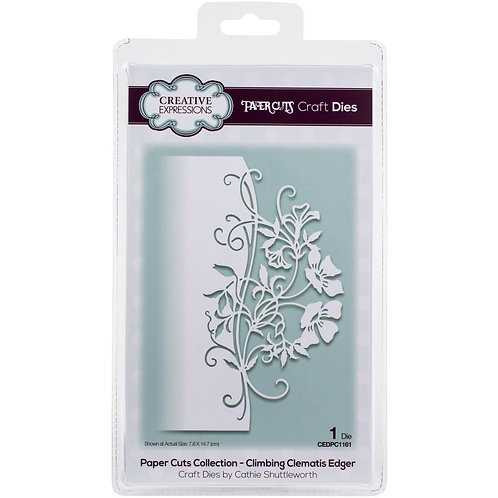 Climbing Clematis Creative Expressions Paper Cuts Edger Craft Die