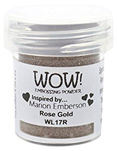 Rose Gold Embossing Powder - WOW
