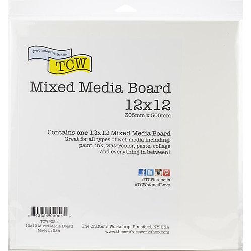 MIXED MEDIA BOARD