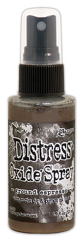 """DISTRESS OXIDE SPRAY """"GROUND ESPRESSO"""""""