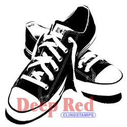 All Star Sneakers - Deep Red